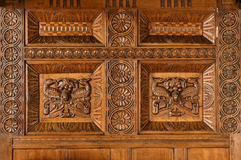 Elizabeth I oak tester bedstead