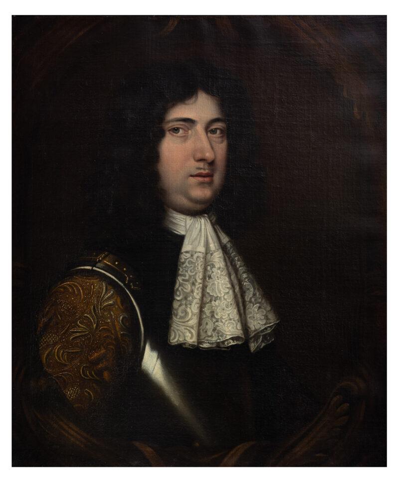 Charles II portrait of gentleman