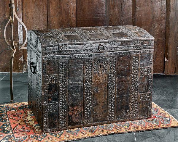 James I iron bound chest