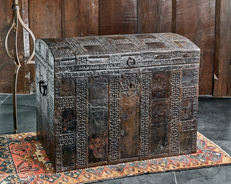 James I iron bound chest
