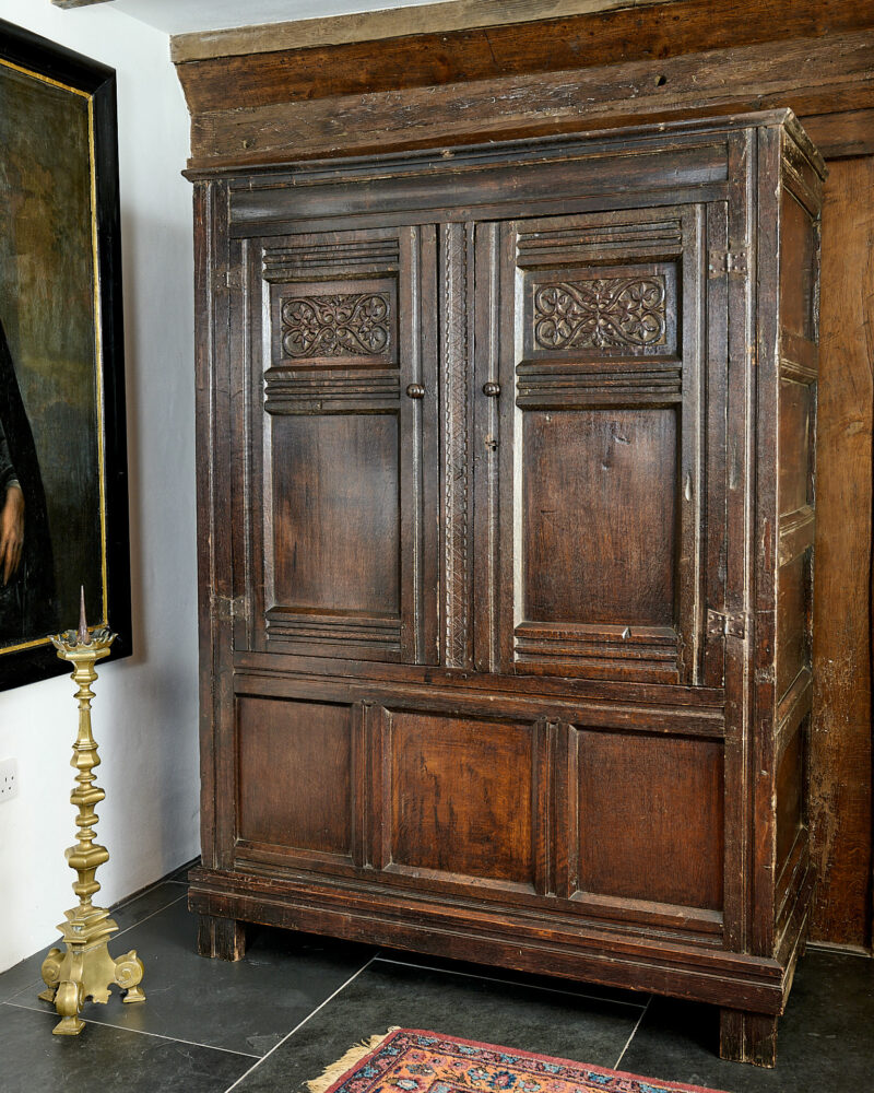 Charles II clothes press