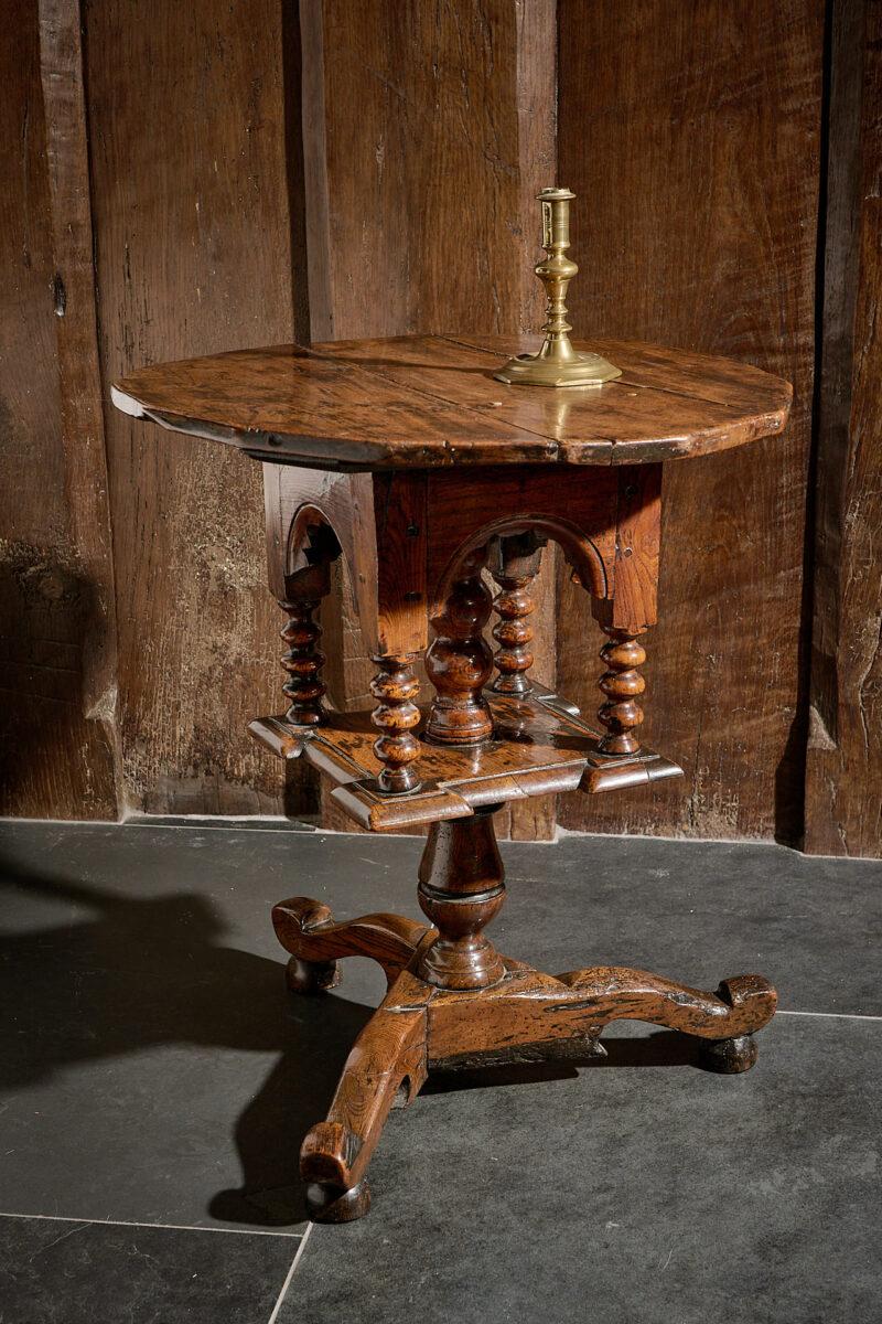 Charles II tripod pedestal table