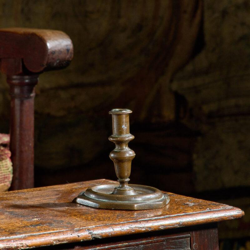 17th century Dutch capstan candlestick