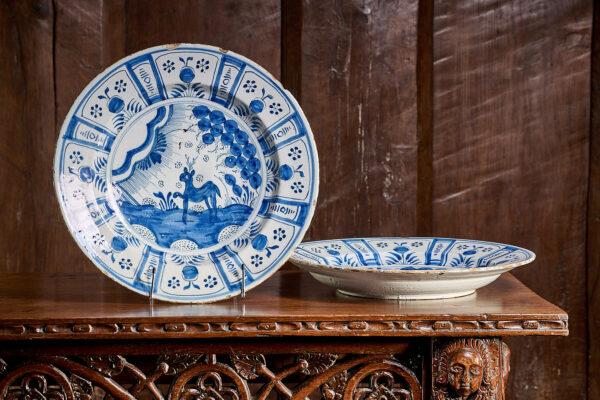 Bristol Delftware plates