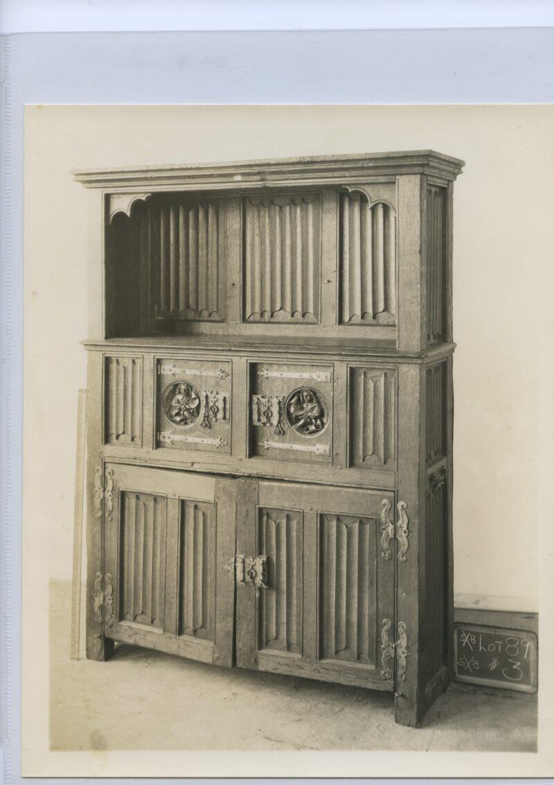 William Randolph Hearst Gothic cupboard