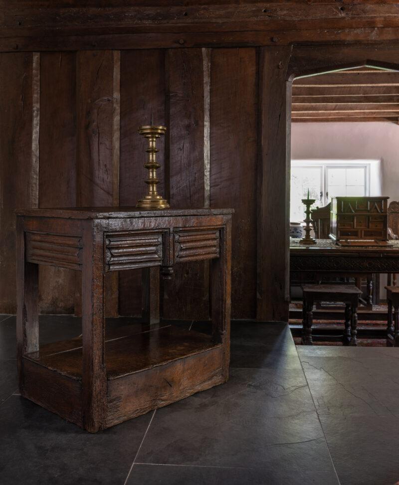 Henry VIII oak table