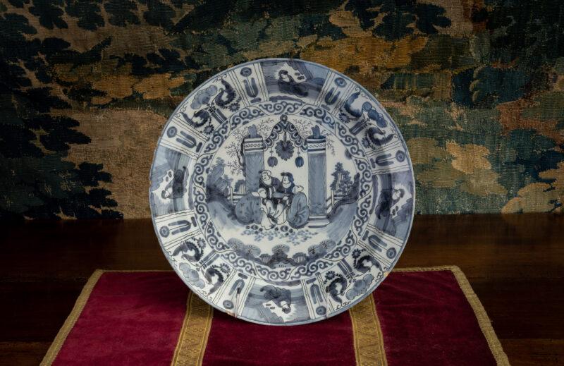 Kraak Delftware plate