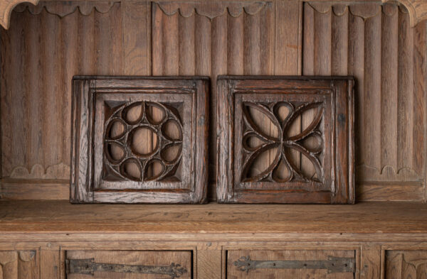 Henry VIII aumbry doors