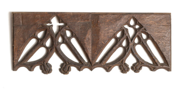 English medieval woodwork