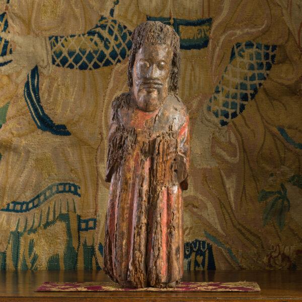 Medieval oak sculpture