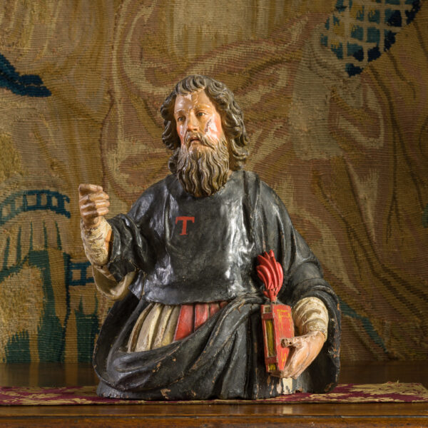 Sculpture of St Anthony