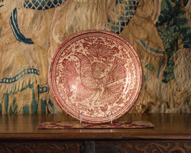 Hispano-Moresque luster bowl