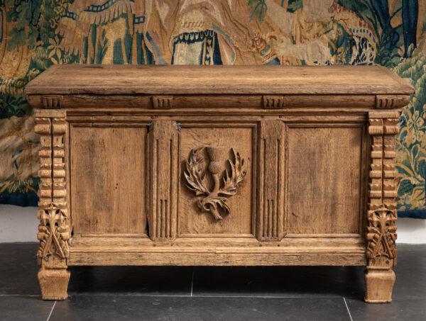 16th century Scottish oak chest
