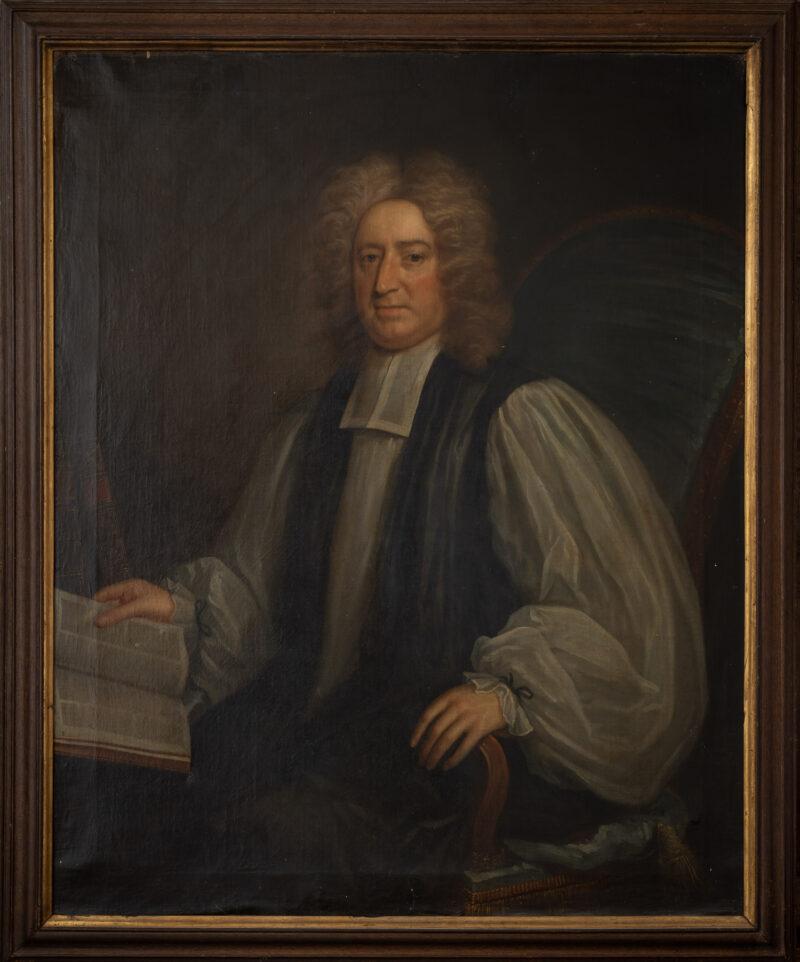 18th century portrait of Bishop Gibson